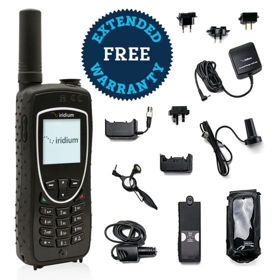 Iridium 9575 Extreme Satellite Phone with Free Extended Warranty