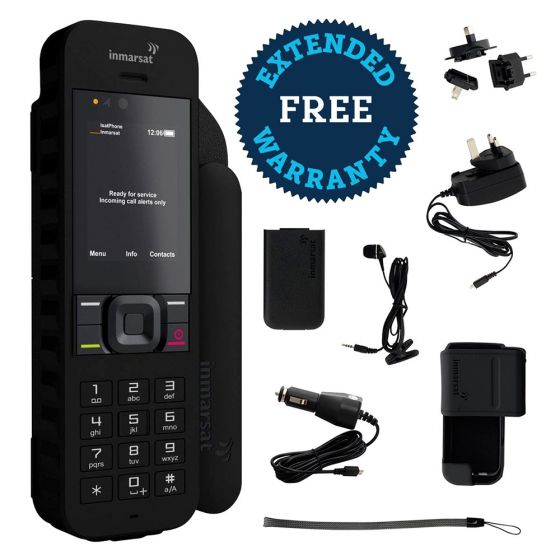 IsatPhone 2 Satellite Phone with Free Extended Warranty
