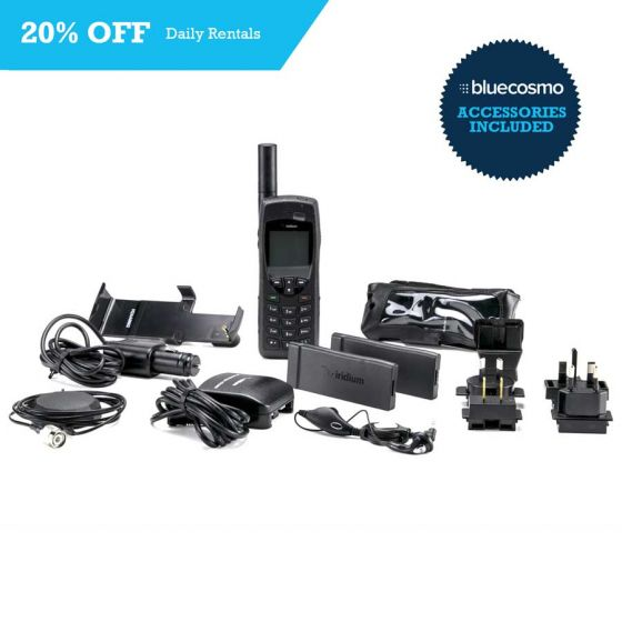 Save 20% Off Satellite Phone Rentals, Model: Iridium 9555, Rental Term: Daily