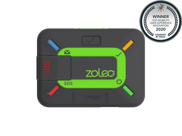 The Iridium-based ZOLEO satellite communicator Awarded Top Mobility Experience Innovation by MSUA