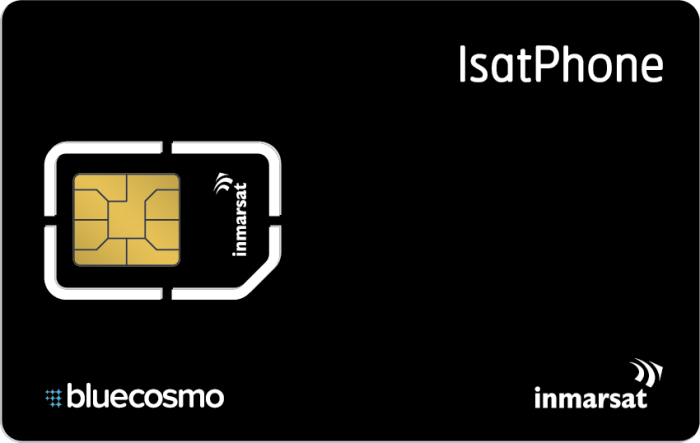 IsatPhone 2500 Unit Card (1 yr)