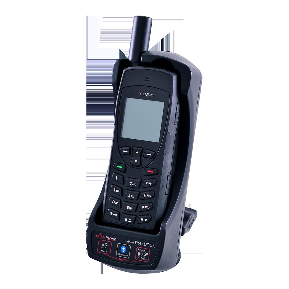 Iridium 9555 Satellite Phone Complete Kit