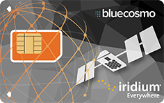 BlueCosmo Iridium SIM Card
